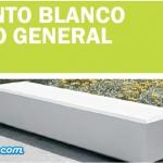 CEMENTO BLANCO DE USO GENERAL