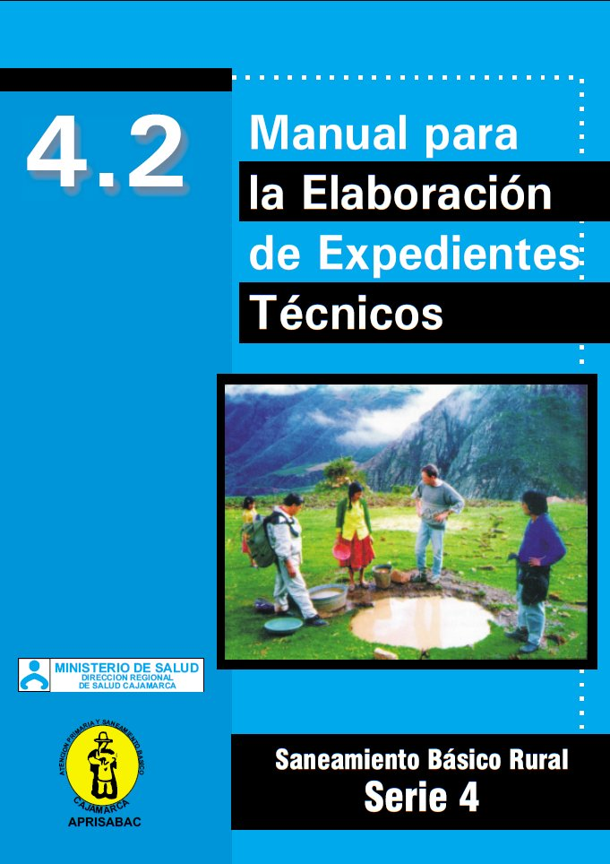 Manual para la Elaboración de Expedientes Técnicos