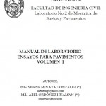 MANUAL DE LABORATORIO ENSAYOS PARA PAVIMENTOS