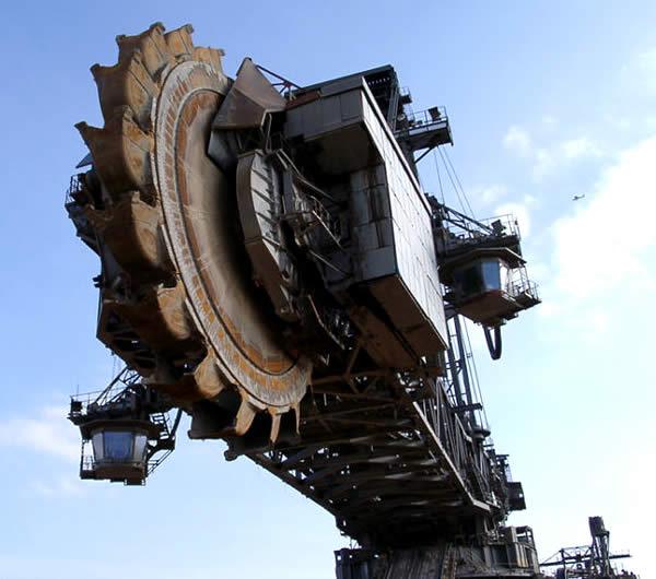 Máquinas monstruosas: Bagger 288