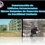 Construcción de Edificios Estructurales por Muros Delgados de Concreto Armado de Ductibilidad Limitada
