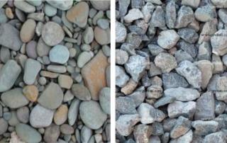 Canto rodado vs Piedra Chancada
