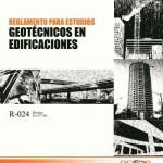 Reglamento para Estudios Geotécnicos en Edificaciones