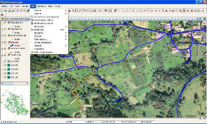 Alternativa a ArcGIS, GvSIG (Software libre)