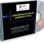 Conferencias dictadas por el Dr. Genner Villarreal Castro