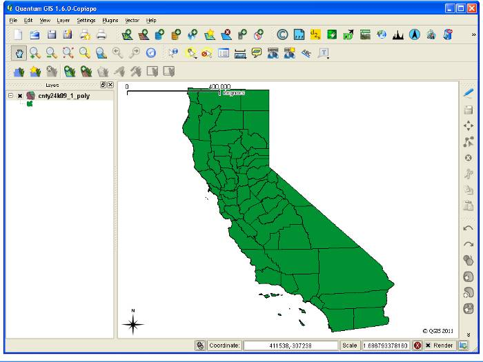 Estructura de un archivo Shapefile