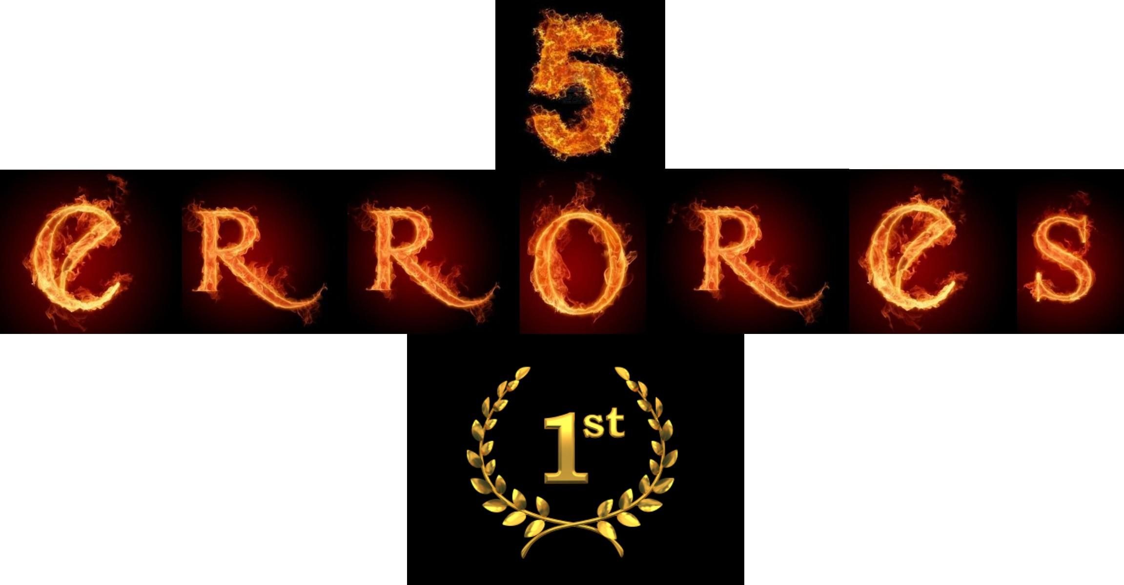 5 ERRORES - 1