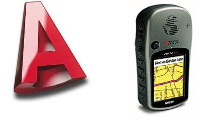 Pasar de AutoCAD Civil 3D al GPS