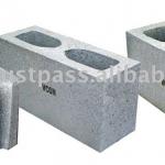 El bloque de concreto en albañilería