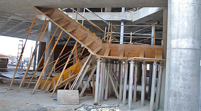 Encofrados de escaleras