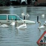 Gestión de inundaciones en el drenaje urbano.