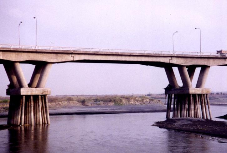 Portada de tipos de cimentación de puentes