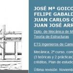 Curso: Mecánica [Universidad Politécnica de Madrid]