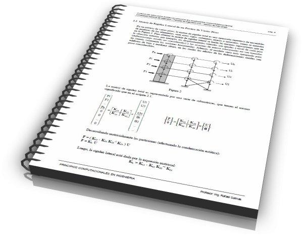 Apuntes sobre fundamentos del análisis dinámico de estructuras
