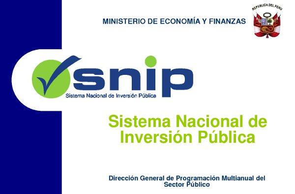 SNIP – Definicion de Funciones Basicas