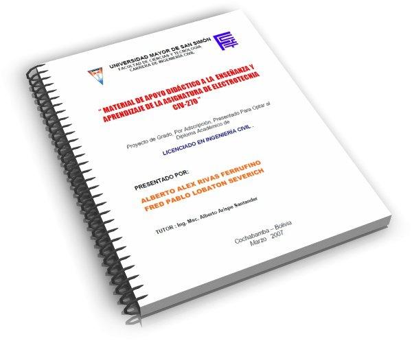 Material de apoyo didáctico a la enseñanza y aprendizaje de electrotecnia