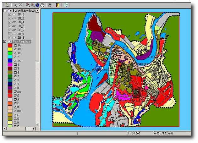 Aplicación del SIG en la planificación territorial