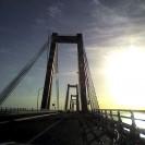 Amanecer desde el puente