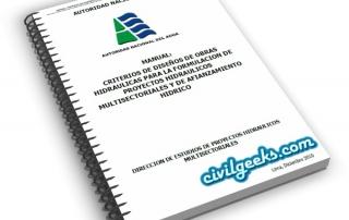 criterios de diseños de obras hidráulicas para la formulación de proyectos hidráulicos