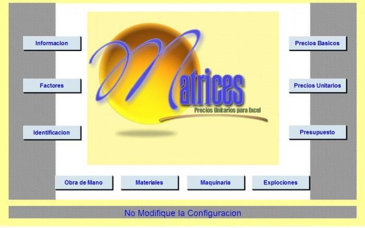 Software Precios Unitarios y Presupuestos Para Excel   CivilGeeks.com