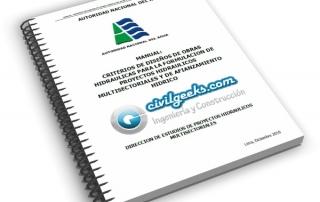 Manual de criterios de diseños de obras hidráulicas para la formulación de proyectos hidráulicos