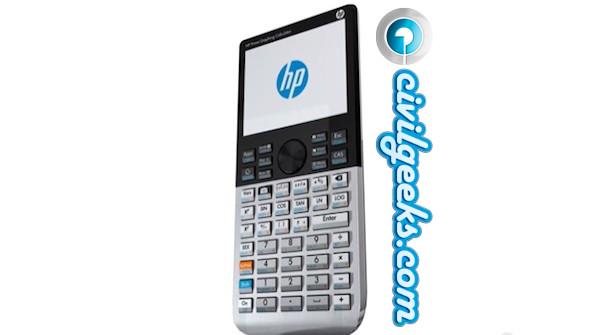 Nueva calculadora HP
