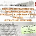Seminario de Cype Ingenieros, en SENCICO, 9 de Septiembre [Lima – Perú]