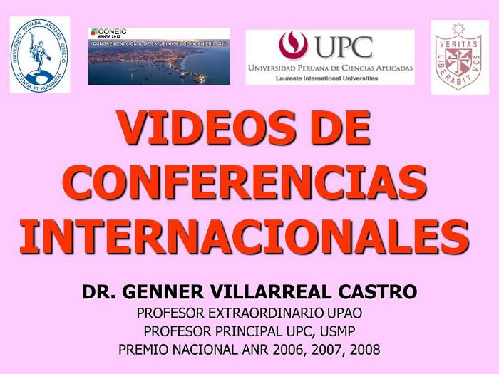 VIDEOS CONFERENCIA