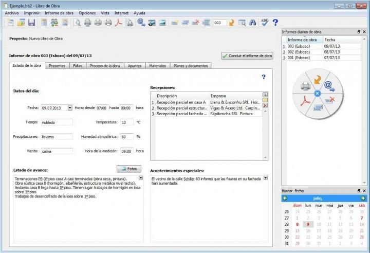 El Software para la Construcción – Libro de Obra