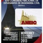 XXII Congreso Nacional de Estudiantes de Ingeniería Civil del 31/10 al 02/11 @CONEIC_2013 #Mexico