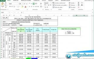 Excel suelos
