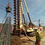Pilotes de cimentación para la construcción