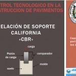 Diapositiva sobre relación de soporte california CBR