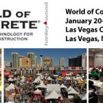 World of #Concrete del 20 al 24 de Enero 2014 Las #Vegas, Nevada #USA