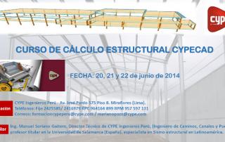 CURSO DE CÁLCULO ESTRUCTURAL CYPECAD 01