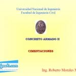 Curso de cimentaciones aisladas [Ing. Roberto Morales]