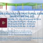 CURSO DE CÁLCULO DE ESTRUCTURAS CON CYPE 3D [27, 28 y 29 de junio 2014]