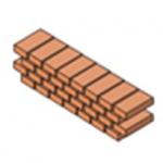 ¿Cuántos Ladrillos entran en un metro cuadrado de muro?
