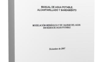 MODELACIÓN HIDRÁULICA Y DE CALIDAD DEL AGUA EN REDES DE AGUA POTABLE