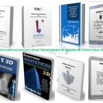 """Biblioteca Virtual Gratuita:""""Problemario de Análisis de Estructuras en 2D y 3D""""(BLOQUE 1)-David Ortiz(México),Alex Henrry(Perú),et. al."""