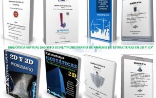 Biblioteca Virtual 2014-Problemario de Análisis de Estructuras en 2D y 3D