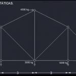 Análisis de armaduras con MD solids 3.5 (Luis Ceciliano (ESIA Zacatenco IPN))