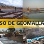 Uso de geomallas en caminos
