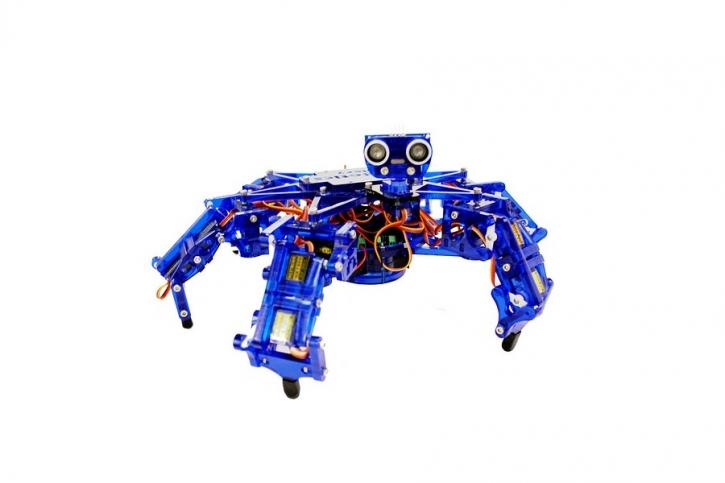 Regalos-araña-robot