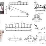 Vigas: Diagramas de fuerzas cortante y normal, momento, giro y deflexión-David Ortiz, Elan B., Marcos M., Sergio B.:UNAM-IPN