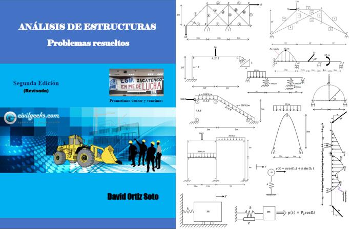 Libro: Análisis de Estructuras:problemas resueltos. 2da Edición. David Ortiz Soto.