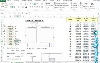 Excel Zapatas