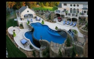 Una piscina ideal para los fines de semana
