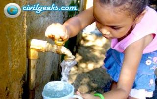 agua consumo