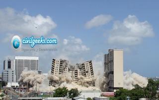 Demolición de edificios por Implosión 1